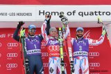 Alpine Combined: A blue, white and red festival on the Les Houches Verte run